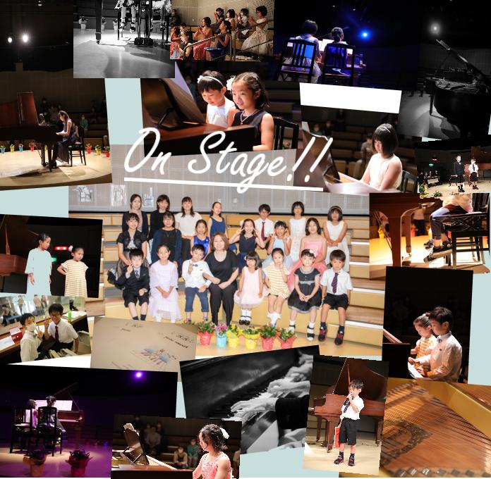 熊本のピアノ教室 ピアノ発表会風景 教室の様子